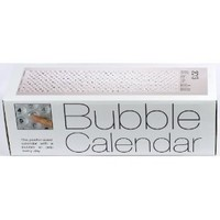 Bubble Calendar - A Poster Sized Wall Calendar with a Bubble to Pop Everyday