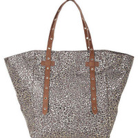 Trinity Gilded Canvas Tote