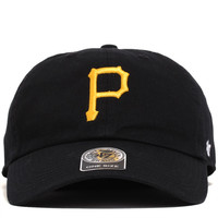 Pittsburgh Pirates Clean Up Unstructured Strapback Hat Black