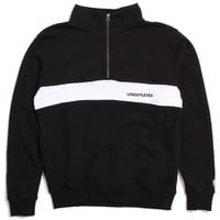 Wag Half Zip Fleece Jacket Black