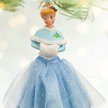 Licensed cool NEW 2013 Disney Store Princess CINDERELLA Sketchbook Christmas Ornament Dress