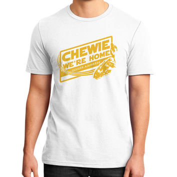 CHEWIE WE'RE HOME District T-Shirt (on man)