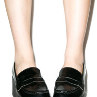 Qupid Mob Platform Loafers