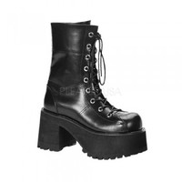 Demonia Ranger Calf Boots :: VampireFreaks Store :: Gothic Clothing, Cyber-goth, punk, metal, alternative, rave, freak fashions