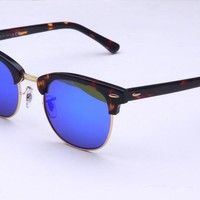 Ray Ban Round Sunglass RB3016 Clubmaster 1145/19 49