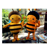 Little Bee Animal Cartoon Mascot Costume, Cosplay Costumes, Costume for Adults,Clothing, Performing Costume, Party Costumes,Halloween Cos