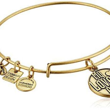 Alex and Ani Charity By Design My Love is Alive Bangle Bracelet