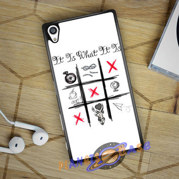 One Direction Louis Tomlinson Tattoos Sony Xperia Z5 case Planetscase.com