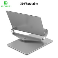 FLOVEME Aluminum Phone Tablet Desktop Holder For iPhone 7 6 6S Plus iPad For Samsung Huawei Xiaomi Tablets Phone Holder Bracket