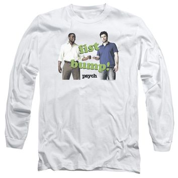 Psych - Bump It Long Sleeve Adult 18/1 Officially Licensed Shirt