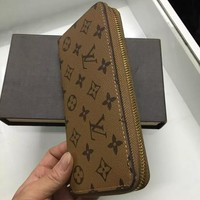 LOUIS VUITTON WOMEN MEN'S LEATHER WALLET PURSE WALLETS