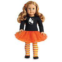 American Girl® Clothing: Spooky Fun Outfit for Dolls + Charm