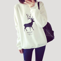 Fashion Lovers Autumn Harajuku Kawaii Printed Sweatshirt Hoodies Women tracksuit Design Long Sleeve Ladies  Female Hoodies