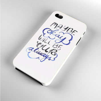 TFIOS Maybe Okay iPhone 4s Case