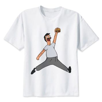 Bobs Burgers T shirt men t shirt fashion t-shirt O Neck white TShirts For man Top Tees MR1076