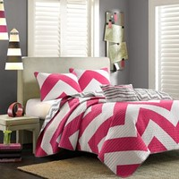 Mi Zone Virgo Reversible Quilt Set