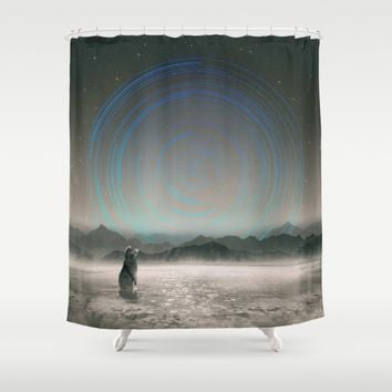 It Beckons Shower Curtain by Soaring Anchor Designs   Society6