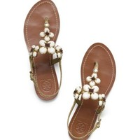 Metallic Jameson Flat Thong Sandal