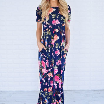 Tropic Like It's Hot Maxi Dress