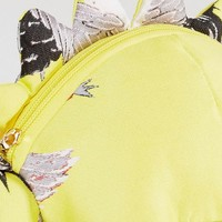 ASOS HERO Dexter The Dino Chinoiserie Bag With Removable Chain at asos.com