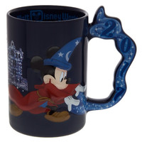 Disney Parks 2017 Mickey Mouse Sorcerer Mug New