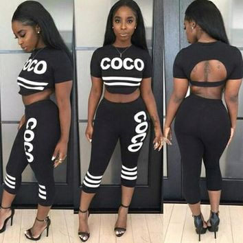 HOT TWO PIECE JUMPSUIT