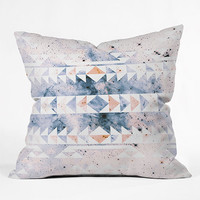 DENY DESIGNS Arctic Gold Tribal Pillow | Bedding