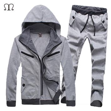 Winter Coat Brand Tracksuit for Men Track suit man Chandal Hombre Coat Harajuku Male Casual Track suits Tracksuit Men