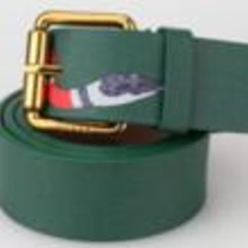 GUCCI fashion man women Smoothing belt snake print belt H