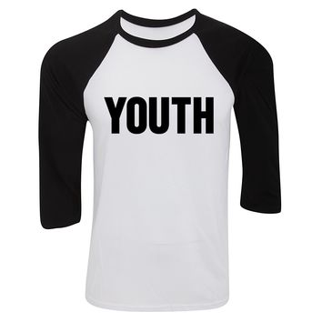 "Shawn Mendes ""YOUTH"" Baseball Tee"