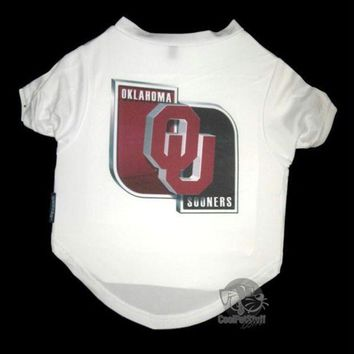 auguau Oklahoma Sooners Performance Tee Shirt