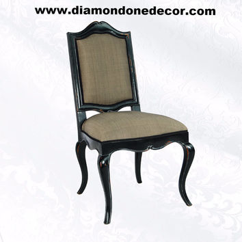 """Paris"" Fabulous French Provincial Louis XIV Reproduction Dining Side Chair"