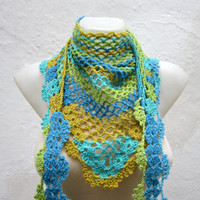 Cowl-Shawl-Scarf-Shawl Triangle Holiday Accessories Winter Accessories