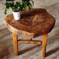 Small side table - wooden coffee table