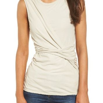 James Perse Twisted Jersey Tank | Nordstrom