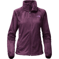Women's Osito 2 Full Zip Fleece Jacket in Blackberry Wine by The North Face - FINAL SALE