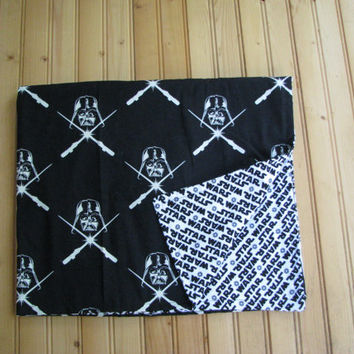 Glow in the dark Starwars darthvader baby blanket
