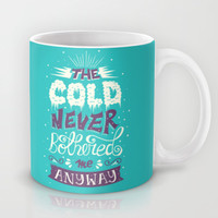 Frozen: The Cold Never Bothered Me Anyway Mug by Risa Rodil