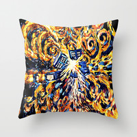 big exploded tardis doctor who Decorative cushion Pillow Case 20""