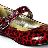 Leopard Print Flats Mary Jane Style