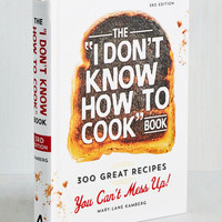 Quirky The I Don't Know How to Cook Book by ModCloth