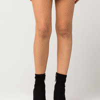 Lurex Fishnet Tights