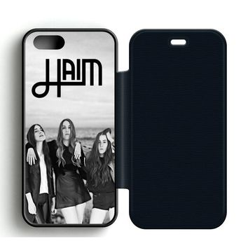 Haim Leather Wallet Flip Case iPhone 5 | 5S