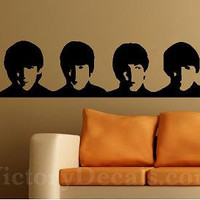 The Beatles - Vinyl Decal - 23 inches