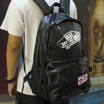 Vans Fashion Sport Laptop Bag Shoulder School Bag Backpack