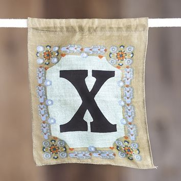 """X""  Inspiration  Flag  From  Natural  Life"