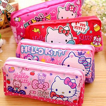Xingkings New Kawaii Hello kitty Pencil Bag Storage Pouch Bag KX-S2247