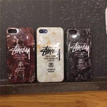 Iphone 6/6s/6s plus 7/7 plus Stylish Stussy On Sale Hot Deal Cute Iphone Soft Phone Case [9370034695]