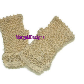 Victorian style fingerless gloves Crochet Fingerless Gloves Vintage Style Crochet Lace gloves Crochet Steampunk Summer Fingerless  Gloves