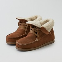 AEO FOLDOVER MOCCASIN BOOTIE